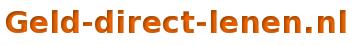 Geld direct lenen logo